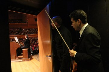 Backstage photos from the 2014 tour of the RAI National Simphony Orchestra